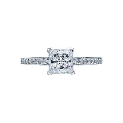 Tacori 2638PRP Dantela White Gold Princess Cut Engagement Ring
