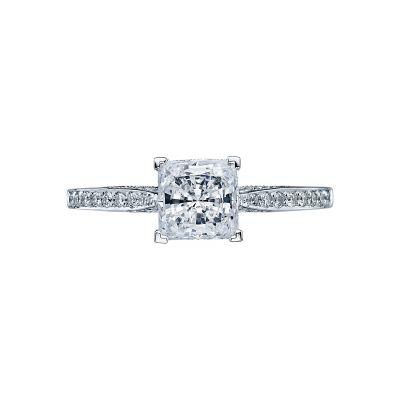 Tacori 2638PRP6 Dantela Platinum Princess Cut Engagement Ring