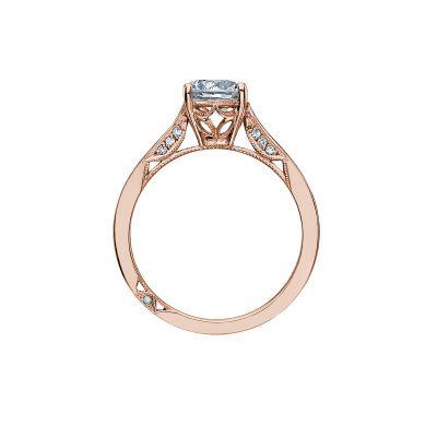 Tacori 2638RD65-PK Rose Gold Round Engagement Ring side
