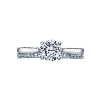 Tacori 2638RD65 Platinum Round Solitaire Engagement Ring set