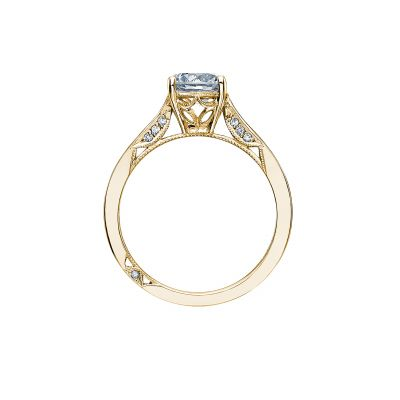 Tacori 2638RD65-Y Yellow Gold Round Engagement Ring side