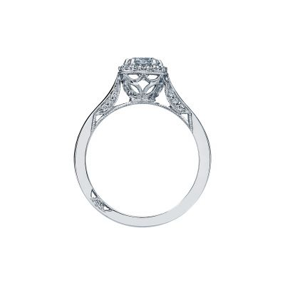 Tacori 2639RD White Gold Round Engagement Ring side