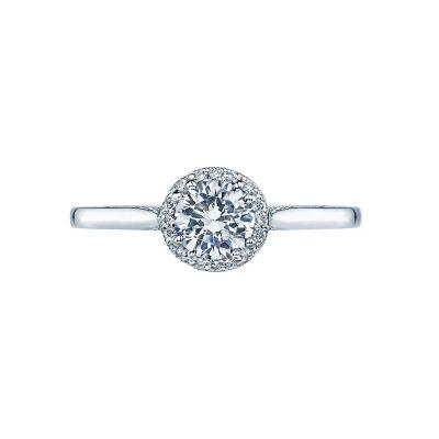 Tacori 2639RD55 Dantela Platinum Round Engagement Ring