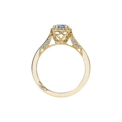 Tacori 2639RD55-Y Yellow Gold Round Engagement Ring side