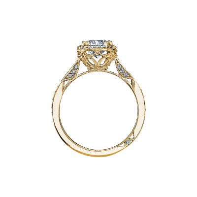Tacori 2639RDP65-Y Yellow Gold Round Engagement Ring side