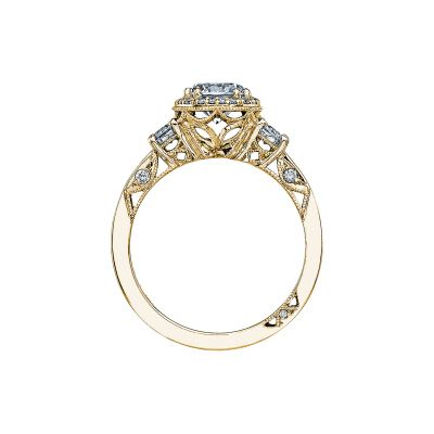 Tacori 2640RD65-Y Yellow Gold Round Engagement Ring side