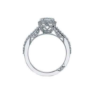Tacori 2641CUP White Gold Round Engagement Ring side