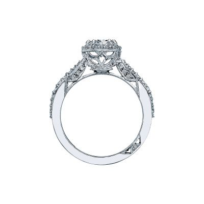Tacori 2641OVP8X6-W White Gold Oval Engagement Ring side