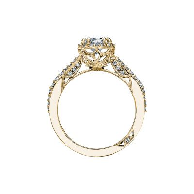 Tacori 2641OVP8X6-Y Yellow Gold Oval Engagement Ring side