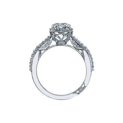 Tacori 2641RDP65-W White Gold Round Engagement Ring side