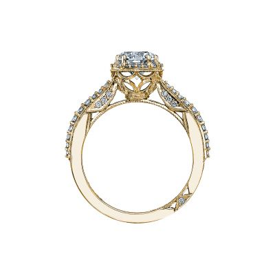 Tacori 2641RDP65-Y Yellow Gold Round Engagement Ring side