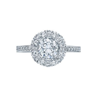 Tacori 2642RD Simply Tacori White Gold Round Engagement Ring