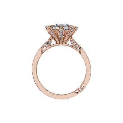 Tacori 2642RD65-PK Rose Gold Round Engagement Ring side