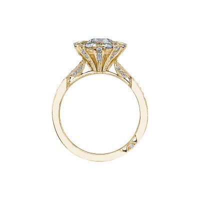 Tacori 2642RD65-Y Yellow Gold Round Engagement Ring side