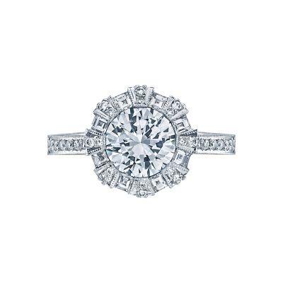 Tacori 2643RD Simply Tacori White Gold Round Engagement Ring