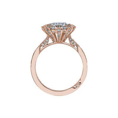 Tacori 2643RD75-PK Rose Gold Round Engagement Ring side