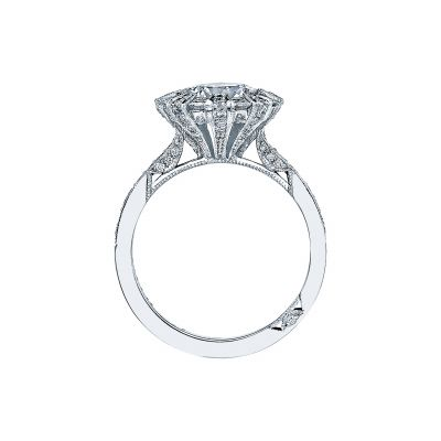 Tacori 2643RD75 Platinum Round Engagement Ring side