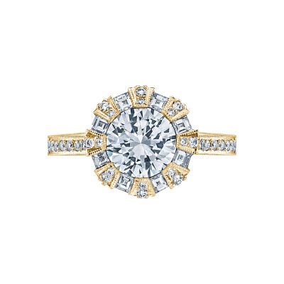 Tacori 2643RD75-Y Simply Tacori Yellow Gold Round Engagement Ring