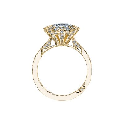 Tacori 2643RD75-Y Yellow Gold Round Engagement Ring side