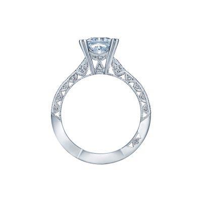 Tacori 2644PR6512-W White Gold Princess Cut Engagement Ring side