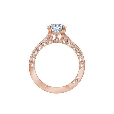 Tacori 2644RD7512-PK Rose Gold Round Engagement Ring side