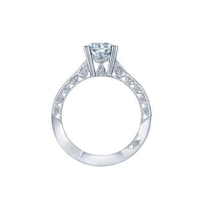 Tacori 2644RD7512 Platinum Round Engagement Ring side