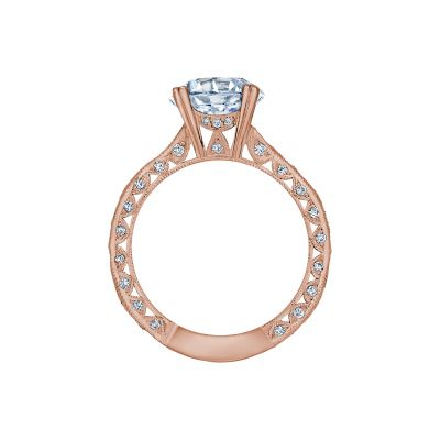 Tacori 2644RD934-PK Rose Gold Round Engagement Ring side