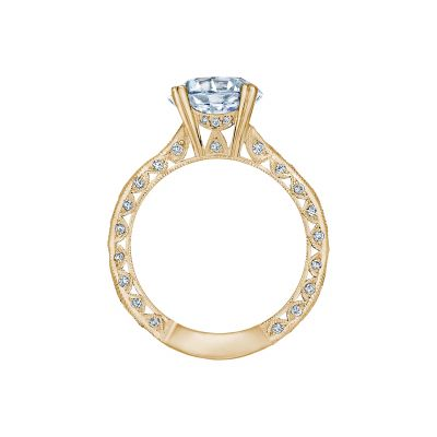 Tacori 2644RD934-Y Yellow Gold Round Engagement Ring side