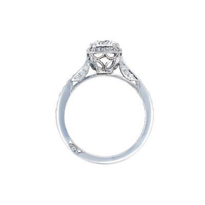 Tacori 2646-25RDC White Gold Round Engagement Ring side