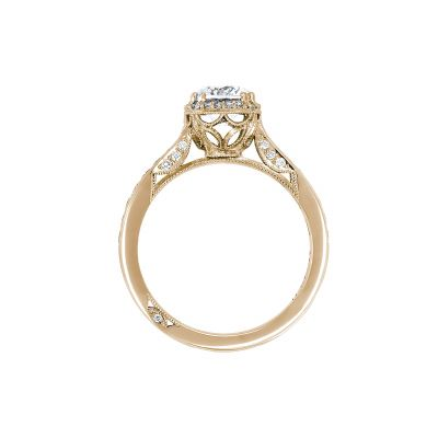 Tacori 2646-25RDC65Y Yellow Gold Round Engagement Ring side