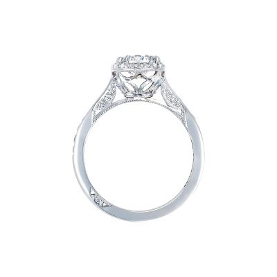 Tacori 2646-25RDR White Gold Round Engagement Ring side