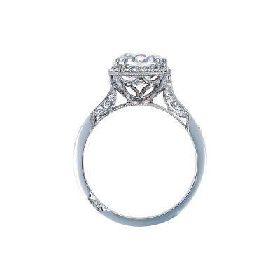 Tacori 2646-35RDC White Gold Round Engagement Ring side