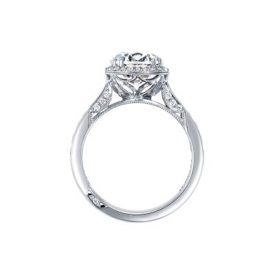 Tacori 2646-35RDR White Gold Round Engagement Ring side