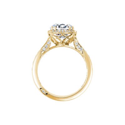Tacori 2646-35RDR8-Y Yellow Gold Round Engagement Ring side