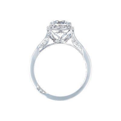 Tacori 2646-3RDR7 Platinum Round Engagement Ring side