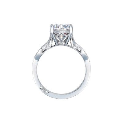 Tacori 2648RD65 Platinum Round Engagement Ring side