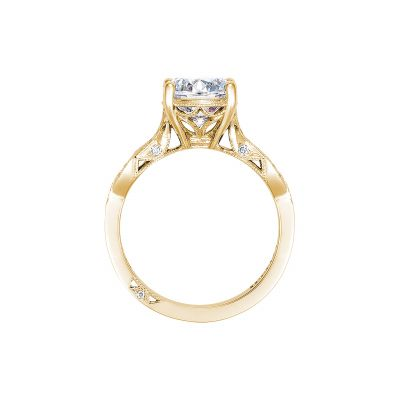 Tacori 2648RD65-Y Yellow Gold Round Engagement Ring side