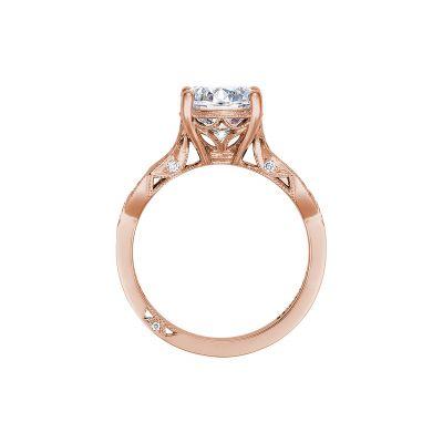 Tacori 2648RD65PK Rose Gold Round Engagement Ring side