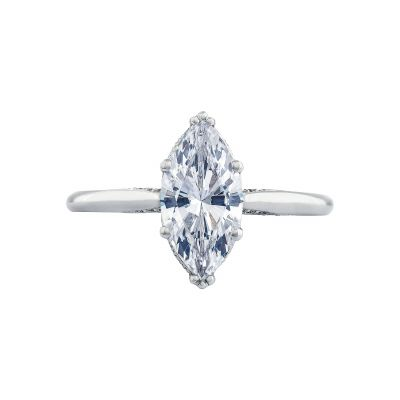 Tacori 2650MQ Simply Tacori White Gold Marquise Engagement Ring