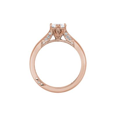 Tacori 2650MQ12X6-PK Rose Gold Marquise Engagement Ring side