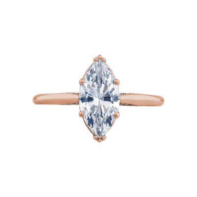 Tacori 2650MQ12X6-PK Simply Tacori Rose Gold Marquise Engagement Ring