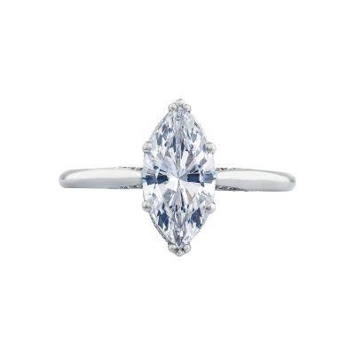 Tacori 2650MQ12X6 Simply Tacori Platinum Marquise Engagement Ring
