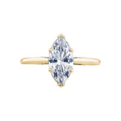 Tacori 2650MQ12X6-Y Simply Tacori Yellow Gold Marquise Engagement Ring