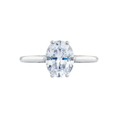 Tacori 2650OV Simply Tacori White Gold Oval Engagement Ring