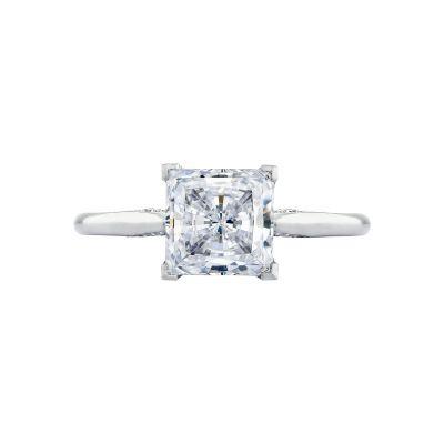 Tacori 2650PR Simply Tacori White Gold Princess Cut Engagement Ring
