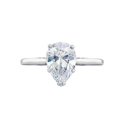 Tacori 2650PS Simply Tacori White Gold Oval Engagement Ring