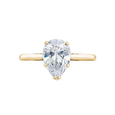 Tacori 2650PS10X7-Y Simply Tacori Yellow Gold Oval Engagement Ring