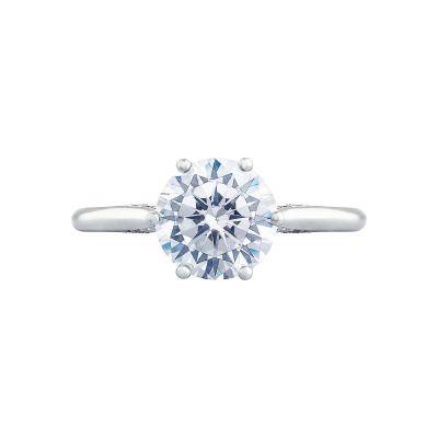Tacori 2650RD Simply Tacori White Gold Round Engagement Ring