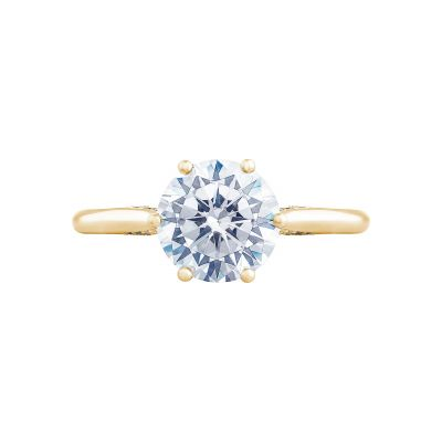 Tacori 2650RD8-Y Simply Tacori Yellow Gold Round Engagement Ring