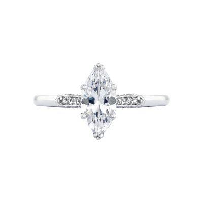 Tacori 2651MQ Simply Tacori White Gold Marquise Engagement Ring